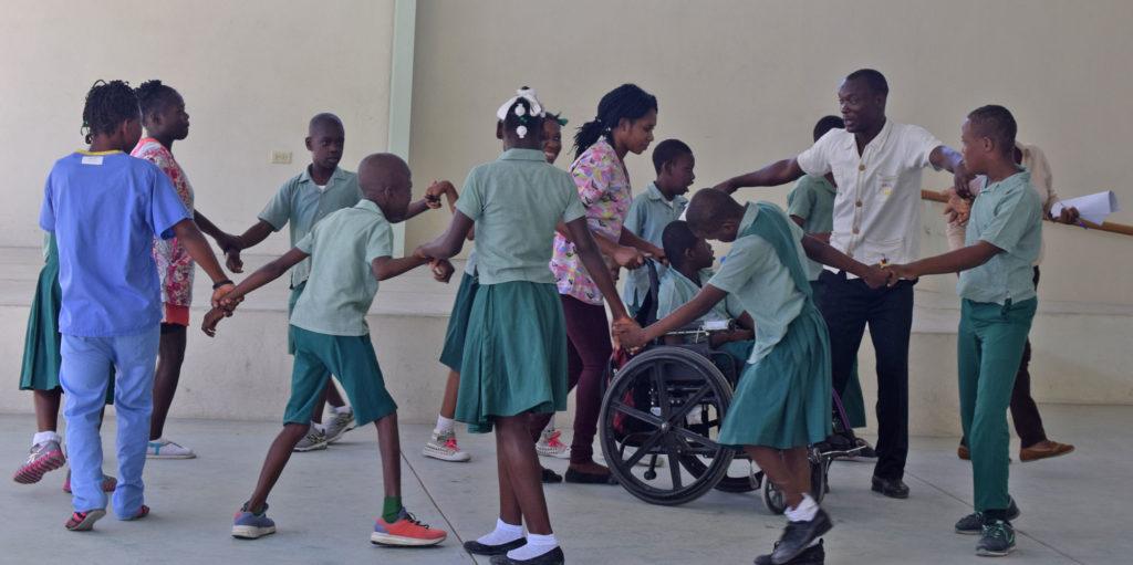 Kay Germaine students dancing