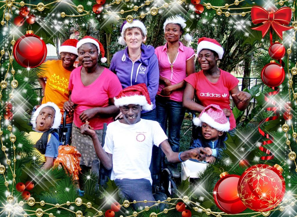 NPH Haiti Special Needs Christmas team